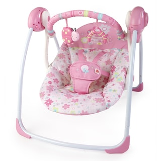 Bright Starts Blossomy Blooms Portable Swing