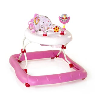 Bright Starts Walk-a-Bout Baby Walker in Pretty in Pink