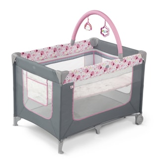 Bright Starts Pretty in Pink Sweet Spots & Ladybugs Playard