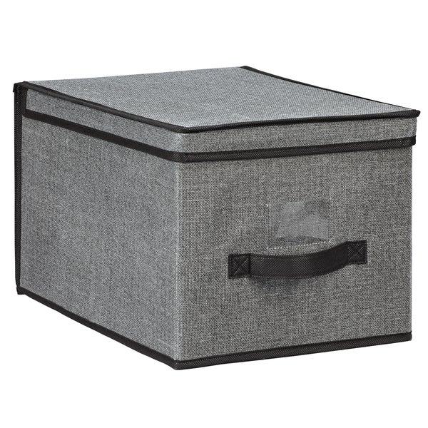 Kennedy Home Collection Grey Large Storage Box