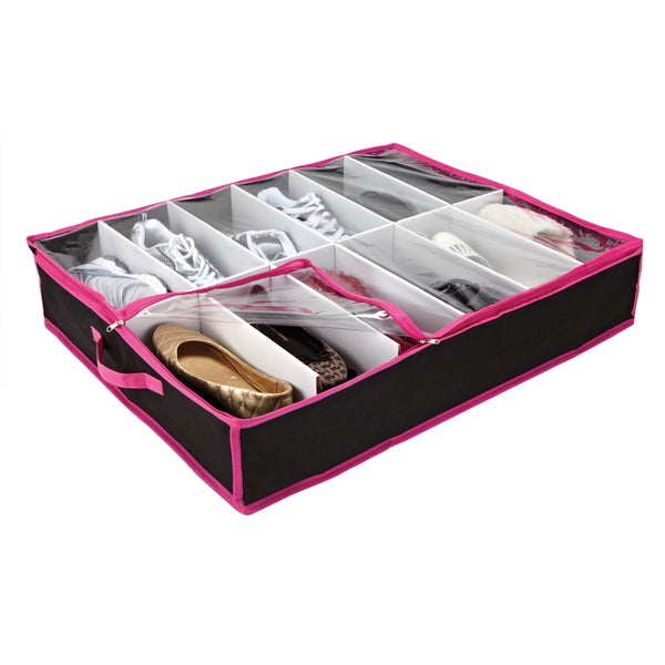 Under-bed Shoe Storage Box
