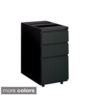 Mayline Steel 3-drawer Box File Pedestal