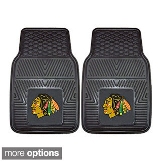 NHL Heavy Duty Vinyl Car Mats (Set of 2)
