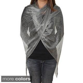Women's Metallic Shimmer Wrap