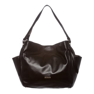 Burberry 'Canterbury' Small Black Leather Tote