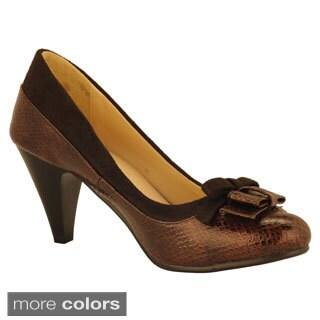 DimeCity Women's 'Mitad' Pump Heels