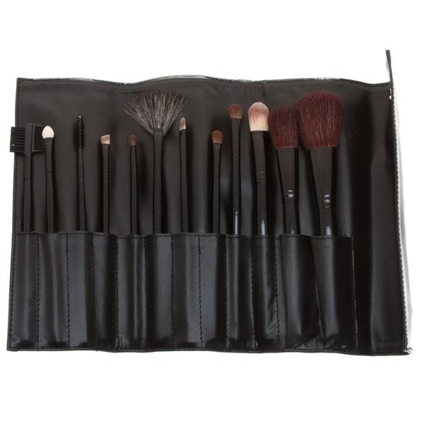 Fortuna Spa 12-piece Professional Makeup Set with bonus 13-piece Brush Set