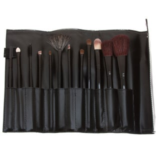 Fortuna Spa 12-piece Professional Makeup Set with bonus 13-piece Brush Set