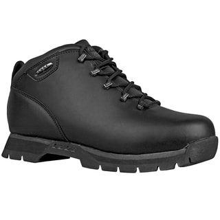 Lugz Men's 'JAM II' Black Perma Hide Lace-up Boots