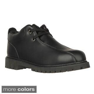 Lugz Men's 'Pathway Lo 2 SR' Perma Hide Slip Resistant Work Boots