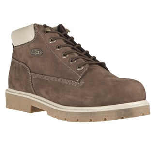 Lugz Men's 'Drifter' Mocha Nubuck Leather Lace-up Boots