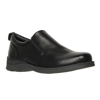 Lugz 'Prim SR' Black Perma Hide Slip Resistant Slip-on Shoes