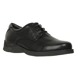 Lugz Men's 'Howard SR' Black Perma Hide Slip Resistant Dress Shoes