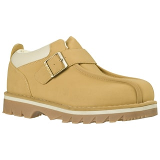 Lugz Men's 'Pathway LO' Wheat Thermabuck Leather Strap Shoes