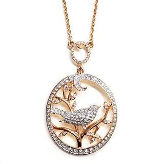 Bird in Tree Pendant Necklace