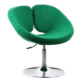 Pluto Green Wool Cashmere Adjustable Chair
