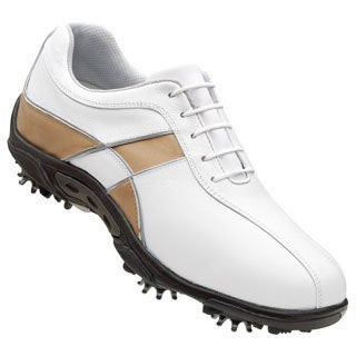 FootJoy Summer Series Ladies White and Taupe Golf Shoes