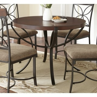 42 inch round dining table overstock shopping great deals on dining tables. Black Bedroom Furniture Sets. Home Design Ideas