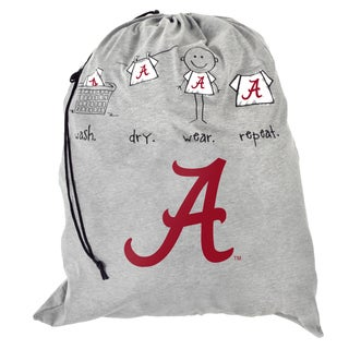 Forever Collectibles NCAA Alabama Crimson Tide Drawstring Laundry Bag