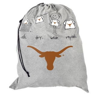 Forever Collectibles NCAA Texas Longhorns Drawstring Laundry Bag