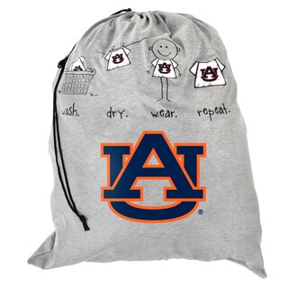 Forever Collectibles NCAA Auburn Tigers Drawstring Laundry Bag