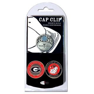 NCAA Georgia Bulldogs Magnetic Cap Clip and Marker Set