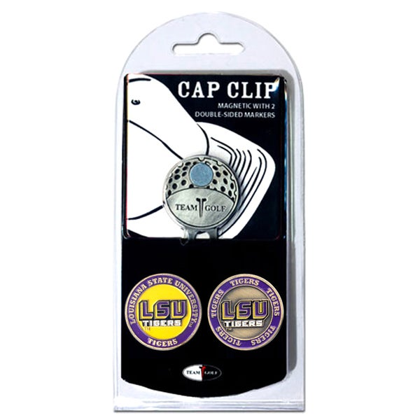 NCAA LSU Tigers Magnetic Cap Clip and Marker Set 12058542
