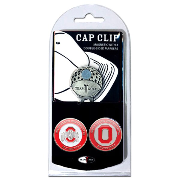 NCAA Ohio State Buckeyes Magnetic Cap Clip and Marker Set