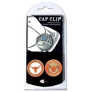 NCAA Texas Longhorns Magnetic Cap Clip and Marker Set