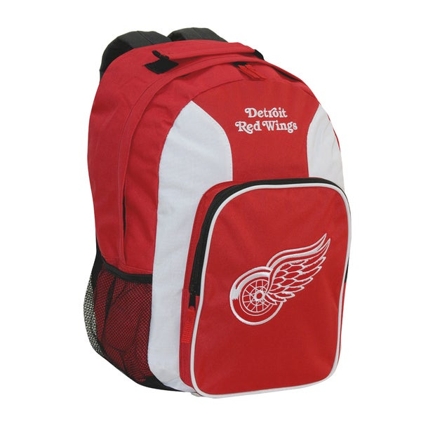NHL Detroit Red Wings Team Logo Backpack