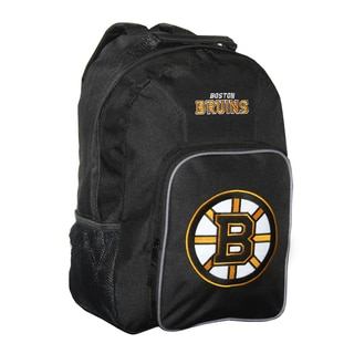NHL Boston Bruins Team Logo Backpack