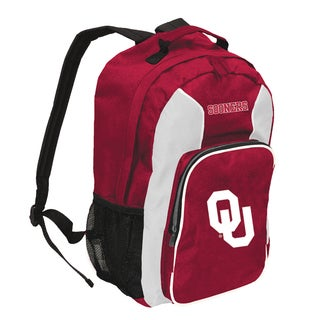 NCAA Oklahoma Sooners Team Logo Backpack