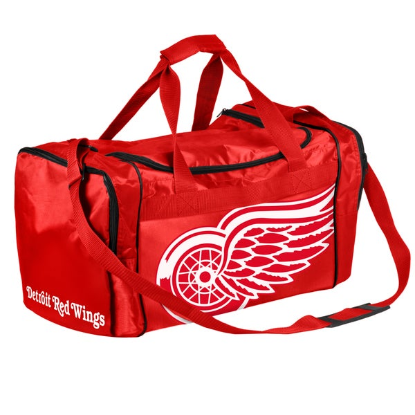 Forever Collectibles NHL Detroit Redwings 21-inch Core Duffle Bag