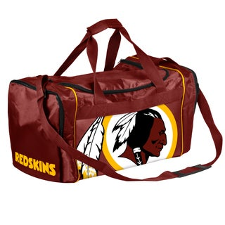 Forever Collectibles NFL Washington Redskins 21-inch Core Duffle Bag