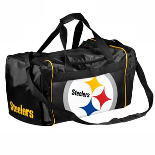 Forever Collectibles NFL Pittsburgh Steelers 21-inch Core Duffle Bag