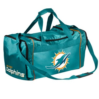 Forever Collectibles NFL Miami Dolphins 21-inch Core Duffle Bag