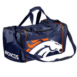 Forever Collectibles NFL Denver Broncos 21-inch Core Duffle Bag