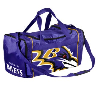 Forever Collectibles NFL Baltimore Ravens 21-inch Core Duffle Bag