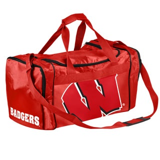Forever Collectibles NCAA Wisconsin Badgers 21-inch Core Duffle Bag