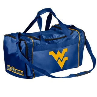 Forever Collectibles NCAA West Virginia Mountaineers 21-inch Core Duffle Bag