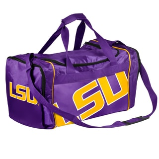 Forever Collectibles NCAA LSU Tigers 21-inch Core Duffle Bag