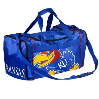 Forever Collectibles NCAA Kansas Jayhawks 21-inch Core Duffle Bag