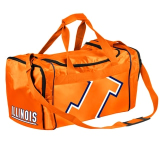 Forever Collectibles NCAA Illinois Fighting Illini 21-inch Core Duffle Bag