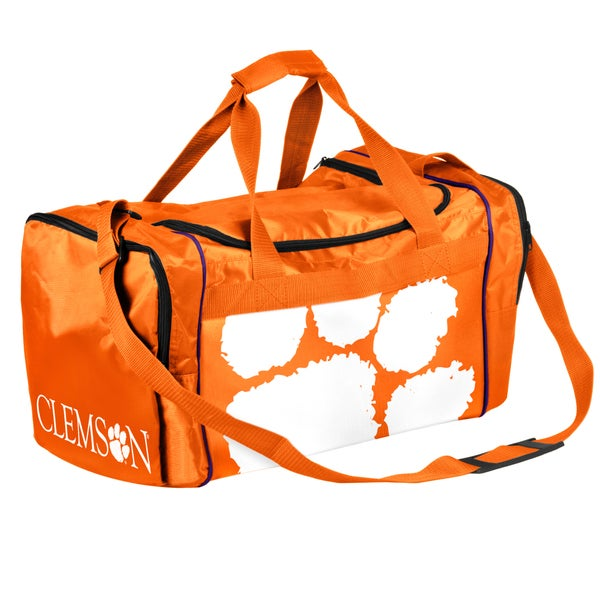 Forever Collectibles NCAA Clemson Tigers 21-inch Core Duffle Bag