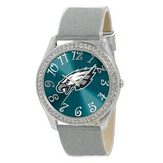 Philadelphia Eagles Women's Glitz Patent Leather Watch