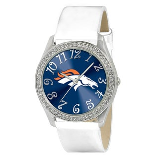 Game Time NFL Denver Broncos Women's Glitz Patent Leather Watch