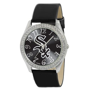 Game Time Chicago White Sox Women's Glitz Patent Leather Watch