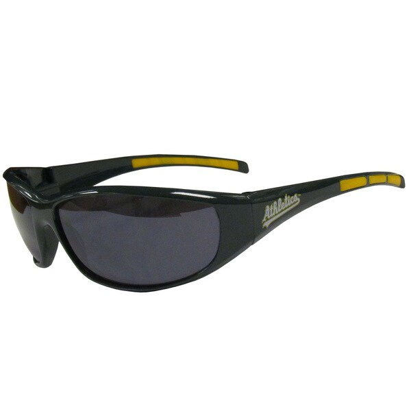 MLB Oakland Athletics Wrap Sunglasses