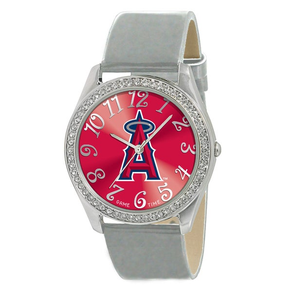 Los Angeles Angels Women's Glitz Patent Leather Watch
