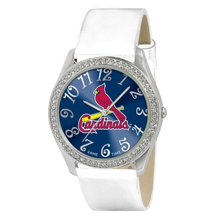 Game Time MLB St. Louis Cardinals Women's Glitz Patent Leather Watch